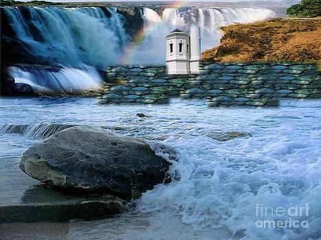 Light House Falls RAW by Catherine Herbert