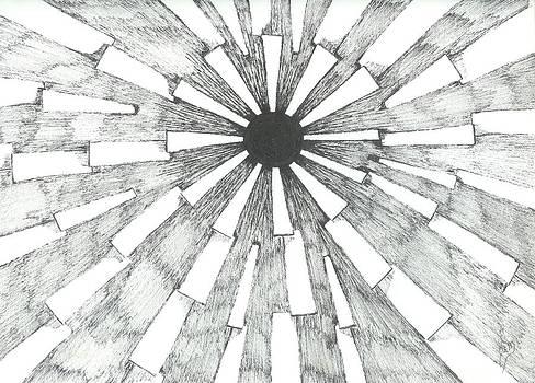 Light In The Dark - Sketch by Robert Meszaros