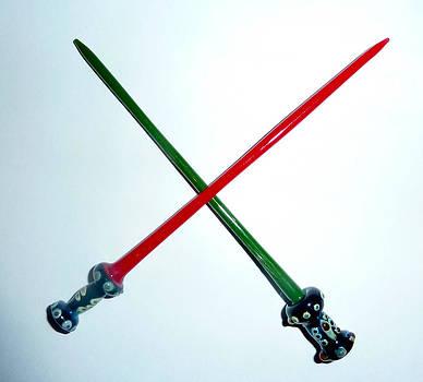 Light Swords by Glass Dabber