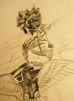 Light Vase by Morgan Banks
