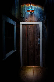 Lighted Doorway by Raymond Potts
