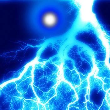 Lightening Storm by Edward Przydzial