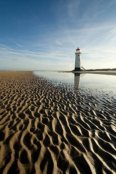 Lighthouse at Talacre by Wayne Molyneux