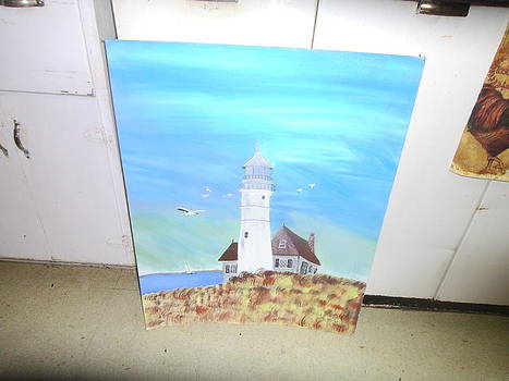 Lighthouse by RALPH Terrell