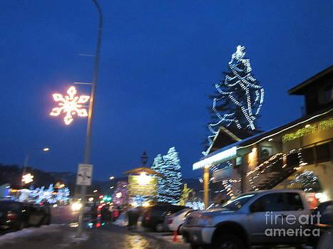 lights in Leavenworth by Nicole Bibbens