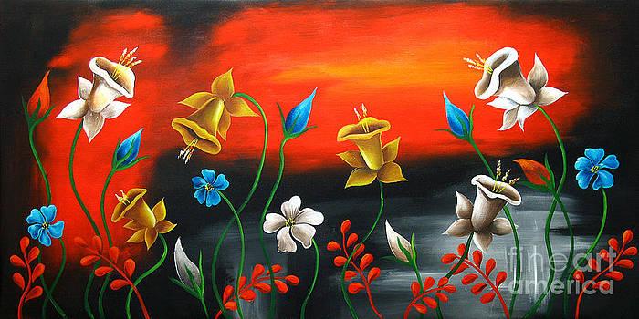 Lily Bells by Uma Devi