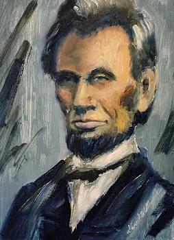 Lincoln Portrait Twelve by Daniel W Green