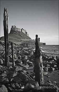Lindisfarne Castle Mono by George Hodlin