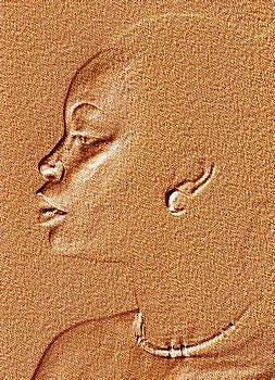Stuart Brown - Lineage Of Neferetti In Sandstone