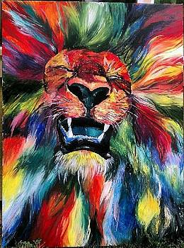 Lion  by Lindsey Jackson