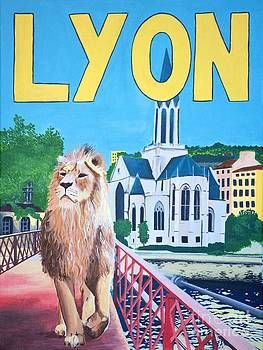 Lion of Lyon by Devan Gregori
