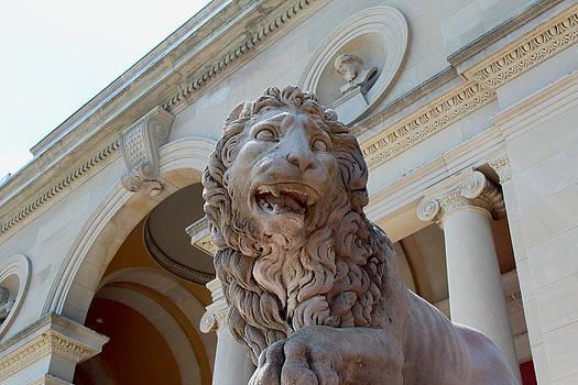 Lion Sculpture by Robbie Basquez