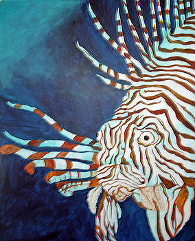 Lionfish by Patricia Hooks