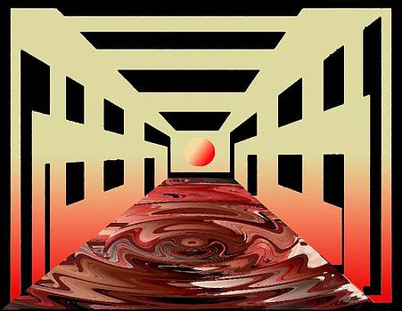 Liquid Floor by Rod Saavedra-Ferrere
