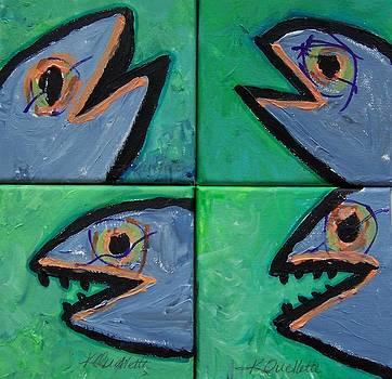Little Blue Fish by Krista Ouellette