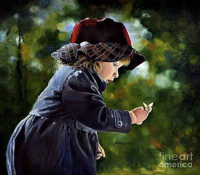 Little Butterfly by Mardare Constantin Cristi