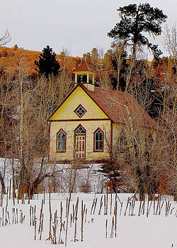 Little Church in the Woods by FeVa  Fotos