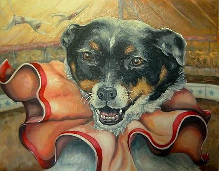 Little Dog Under the Big Top by Pamela Humbargar
