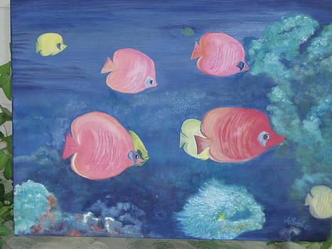 Little Fishes by Arlene Gibbs
