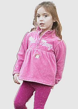 Little Girl in Pink III by Carolyn Meuer-Pickering of Photopicks Photography and Art
