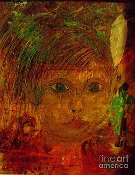 Little Indian Boy by Iris  Mora