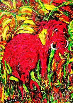 Little Lost Mammoth by Darlyne Sax