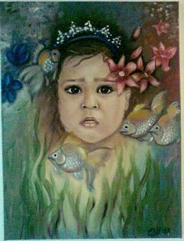 Little mermaid by Moldovan Oana