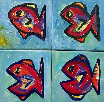Little Red Fish by Krista Ouellette