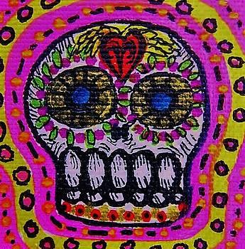Little Sugar Skull by Nancy Mitchell