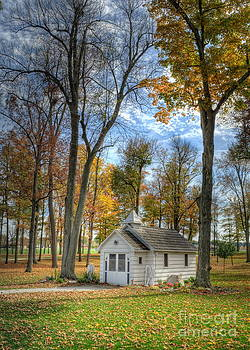 Little White Chapel by Pamela Baker