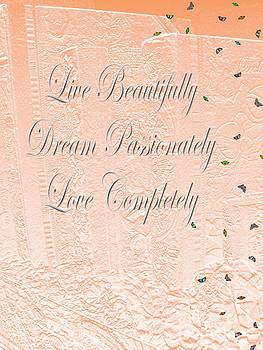 Live Dream Love by Laurence Oliver