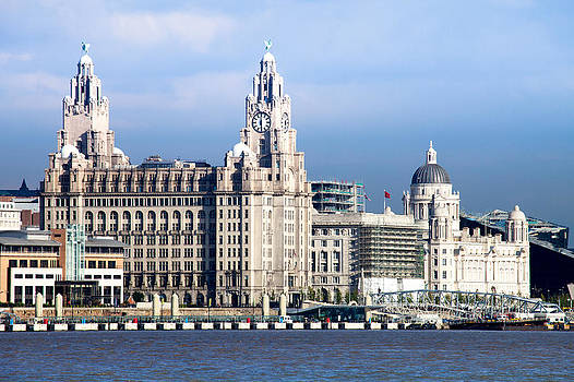 Liverpool Three Graces by Peter Chadwick