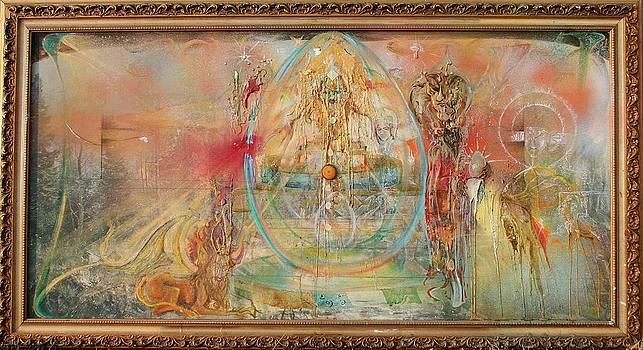 Living Mandala by Brian c Baker