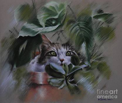 'Lizy in hiding' by Tony Calleja
