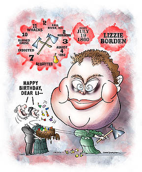Lizzie Borden by Mark Armstrong