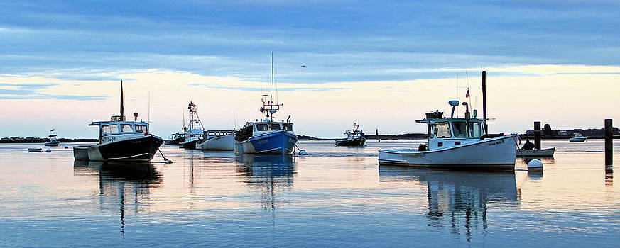 Lobster Boats 2 by Jeremy McKay