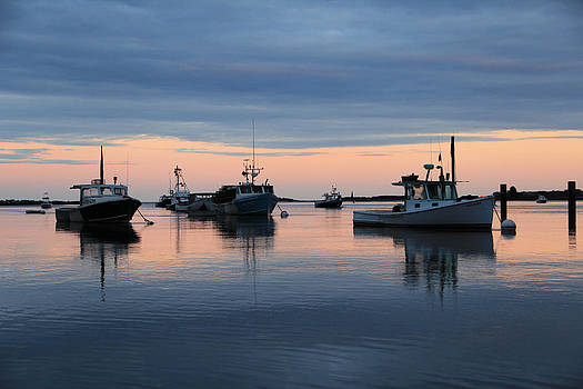 Lobster Boats  by Jeremy McKay