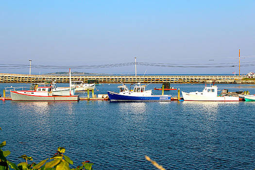 Lobster Boats by Robbie Basquez