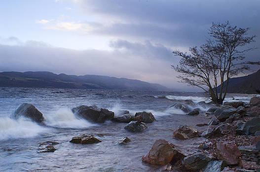 Howard Kennedy - Loch Ness Shoreline at Dusk