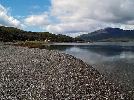 Loch Spelve and Croggan by Steve Watson
