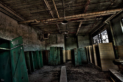 Locker Room HDR by Jason Blalock