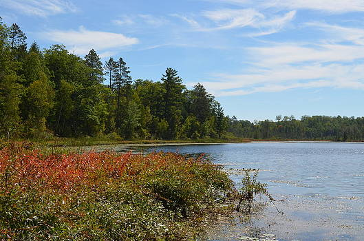 Lodge Lake In September by Jennifer  King