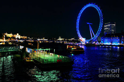 Pravine Chester - London Eye at Night