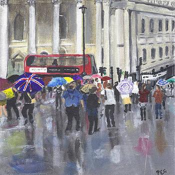 London - Summer 2012-1 by Peter Edward Green