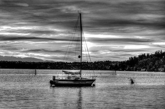 Lone Boat at Coulon Beach Park by Sarai Rachel