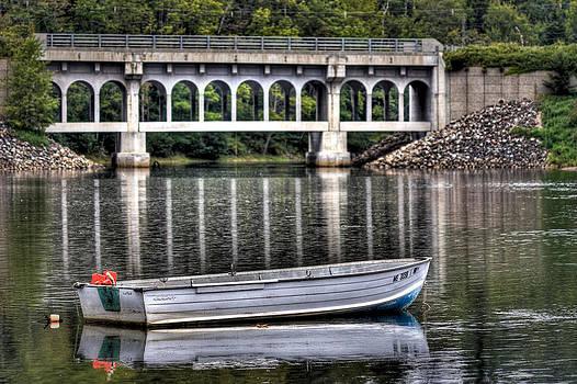 Lone Boat by Kevin Kratka
