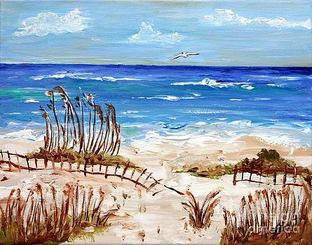 Lone Gull by Jeanne Forsythe