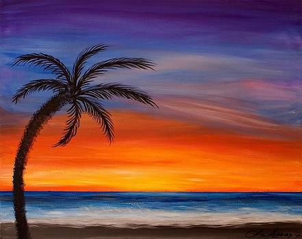 Lone Palm Beach by Liz Angeles