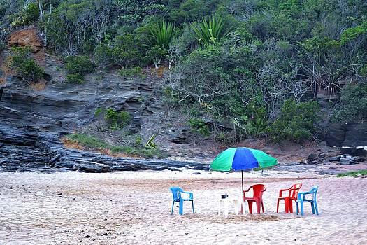 Lonely Beach by Sabrina Vera