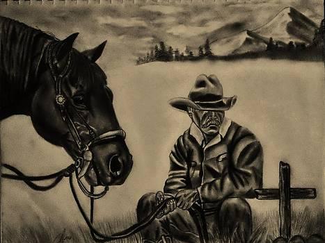 Lonely Cowboy by Scott Hawkman